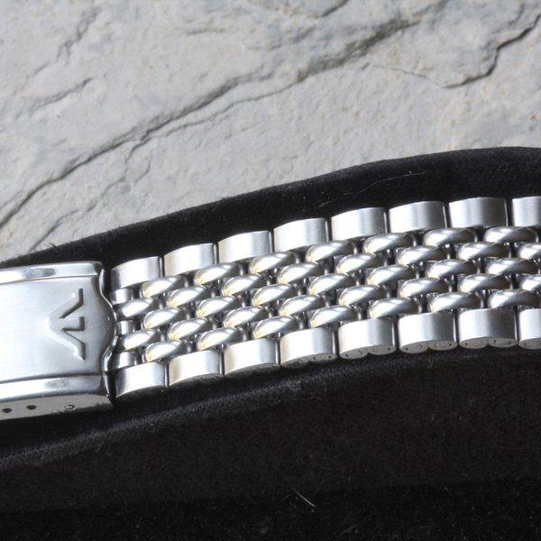 Wittnauer signed Beads of Rice bracelet 18, 19mm or 20mm 5