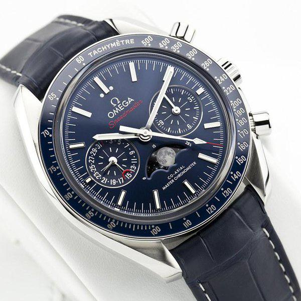 fsot - Omega Speedmaster - Blue Moonphase - 44.25mm - Master Co-Axial ( new / 2019 ) 6