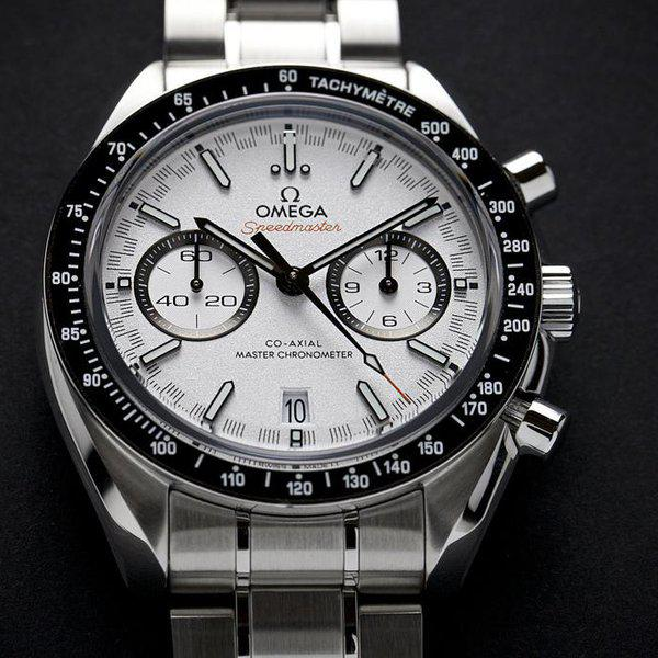 fsot - Omega Speedmaster - Racing Master Co-Axial 44.25mm - White Dial ( new / 2019 ) 3