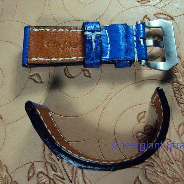 FS:A2250~2260 Panerai custom straps include some vintage cowskin straps & 3 croco straps.Cheergiant straps 16