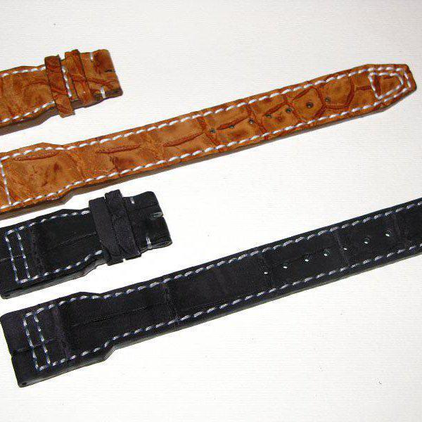 FS - Custom Pilot Aviator Style Straps in Alligator, Leather & Canvas 10