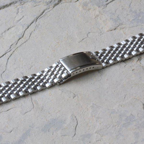 Wittnauer signed Beads of Rice bracelet 18, 19mm or 20mm 2