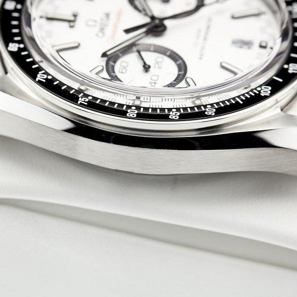 fsot - Omega Speedmaster - Racing Master Co-Axial 44.25mm - White Dial ( new / 2019 ) 8