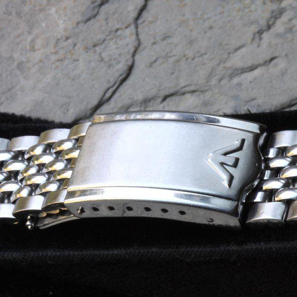 Wittnauer signed Beads of Rice bracelet 18, 19mm or 20mm 7