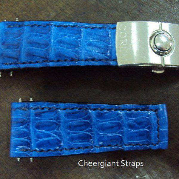 FS:Some SEVENFRIDAY & Corum croco strap & Tissot T-Race Touch AnaDigi leather strap.Cheergiant strap 11