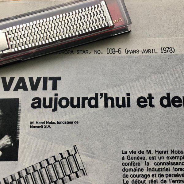 Novavit Swiss NSA 1960s bracelets, Long & XL ones to order 1