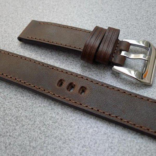 20 and 22 mm hand made straps 24