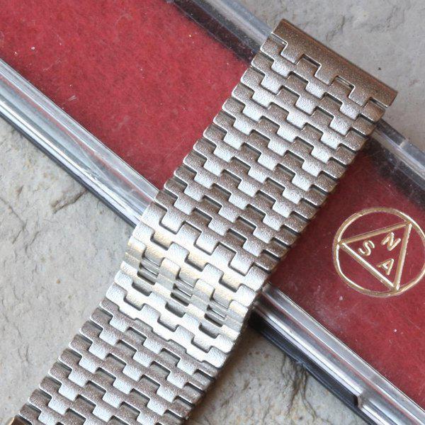 Novavit Swiss NSA 1960s bracelets, Long & XL ones to order 46