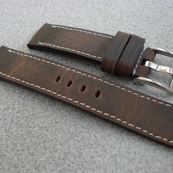 20 and 22 mm hand made straps 23