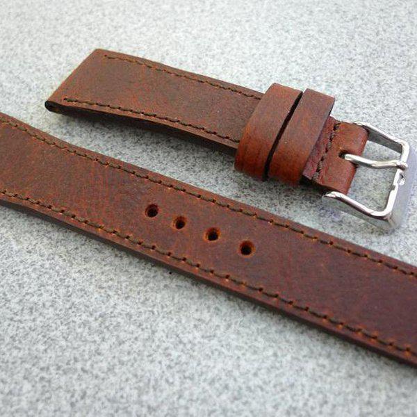 20 and 22 mm hand made straps 28