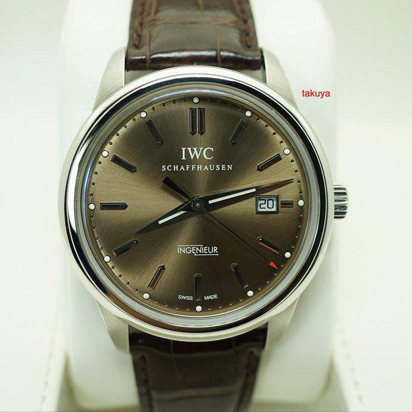 FSOT:IWC Ingenieur AUTOMATIC IW323311 LIMITED EDITION CHOCOLATE DIAL STEEL FULL SET 1