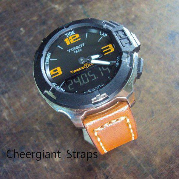 FS:Some SEVENFRIDAY & Corum croco strap & Tissot T-Race Touch AnaDigi leather strap.Cheergiant strap 26