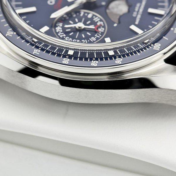 fsot - Omega Speedmaster - Blue Moonphase - 44.25mm - Master Co-Axial ( new / 2019 ) 7