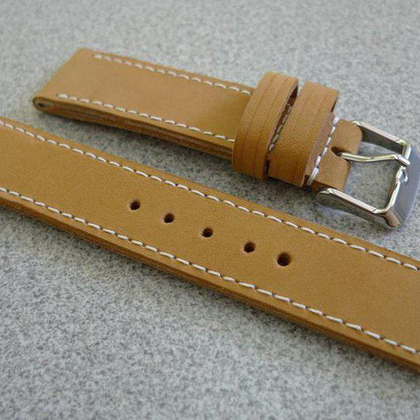 20 and 22 mm hand made straps 18