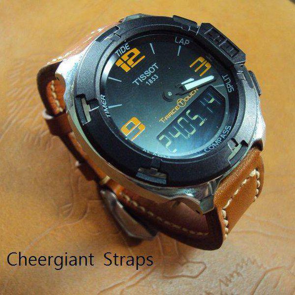 FS:Some SEVENFRIDAY & Corum croco strap & Tissot T-Race Touch AnaDigi leather strap.Cheergiant strap 21