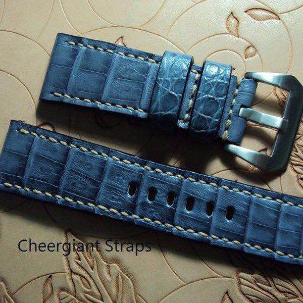 FS:A2250~2260 Panerai custom straps include some vintage cowskin straps & 3 croco straps.Cheergiant straps 11