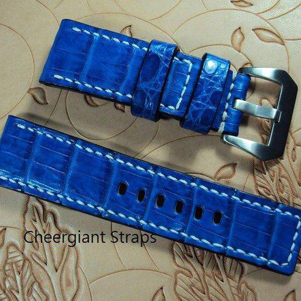 FS:A2250~2260 Panerai custom straps include some vintage cowskin straps & 3 croco straps.Cheergiant straps 15