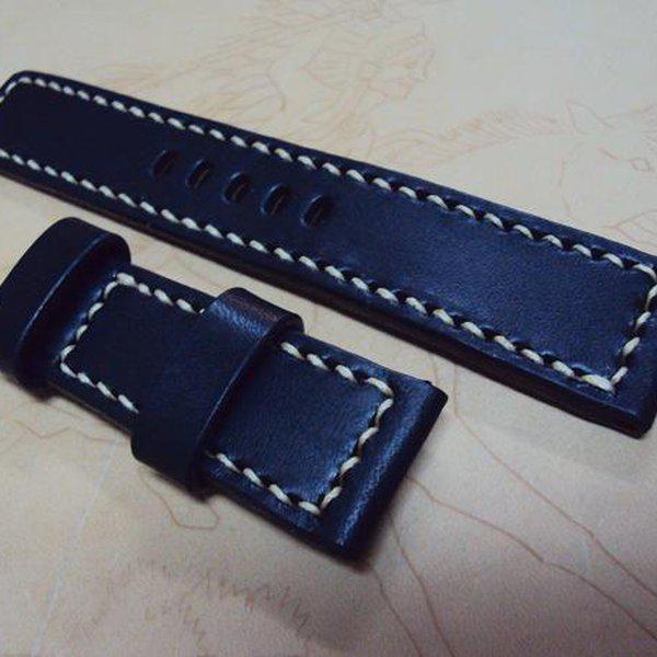 FS: K series Panerai straps includie shorter straps & grayish blue croco strap, Cheergiant straps  24